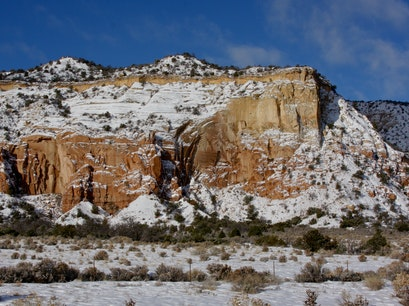 Ghost Ranch Abiquiu New Mexico United States