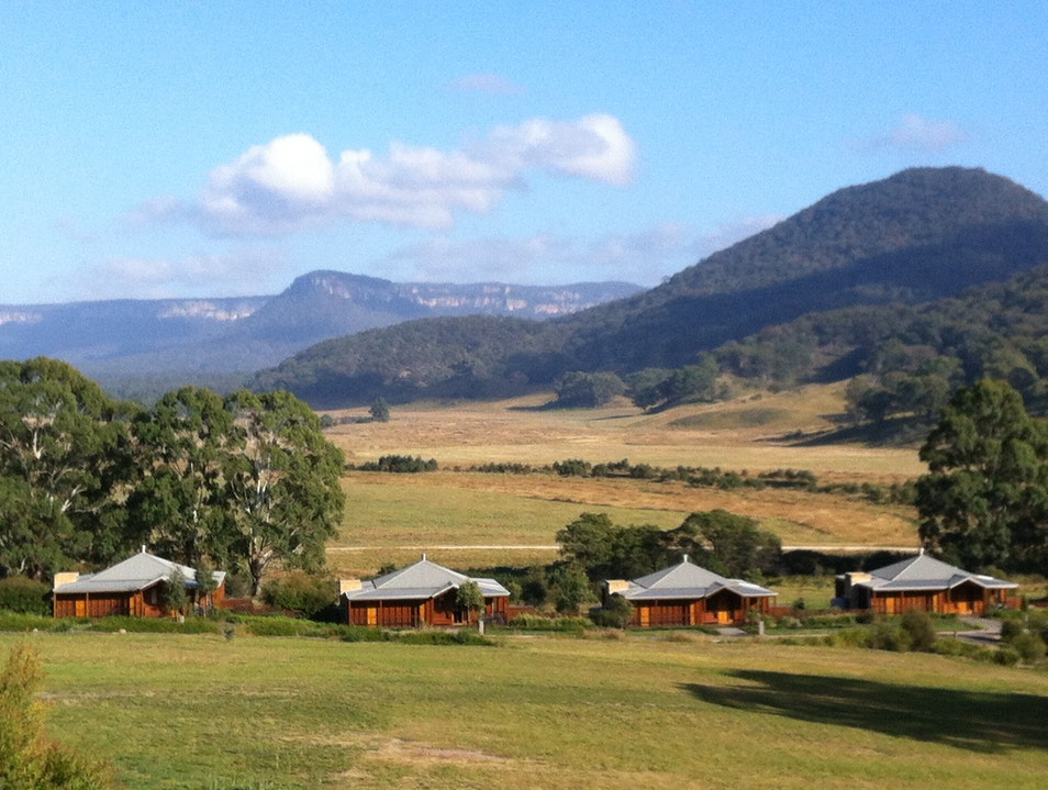 A taste of the outback in the Blue Mountains, with all the five-star comforts