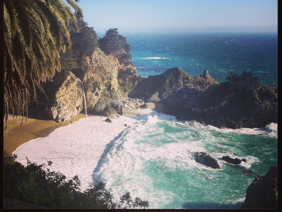 McWay Falls: Big Sur Big Sur California United States