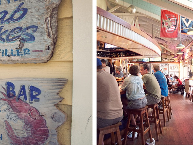 Sampling Maryland Seafood at Boatyard