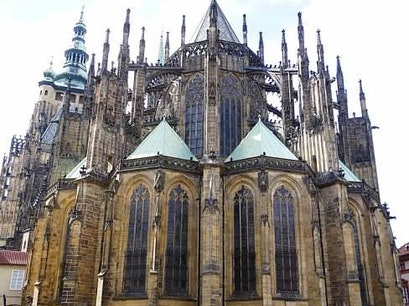 St. Vitus Cathedral Prague  Czech Republic