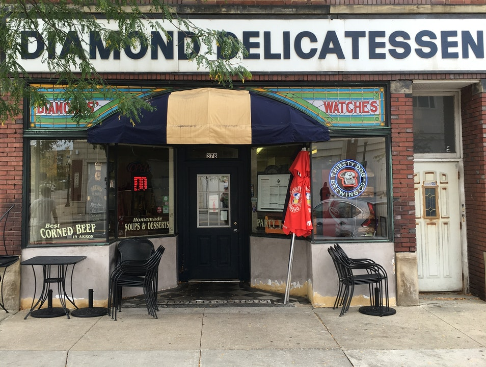 The charming Diamond Deli Akron Ohio United States