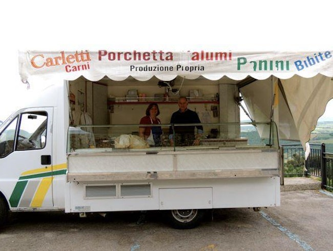 Food Truck Experience in Italy: Porchetta comes out on top..