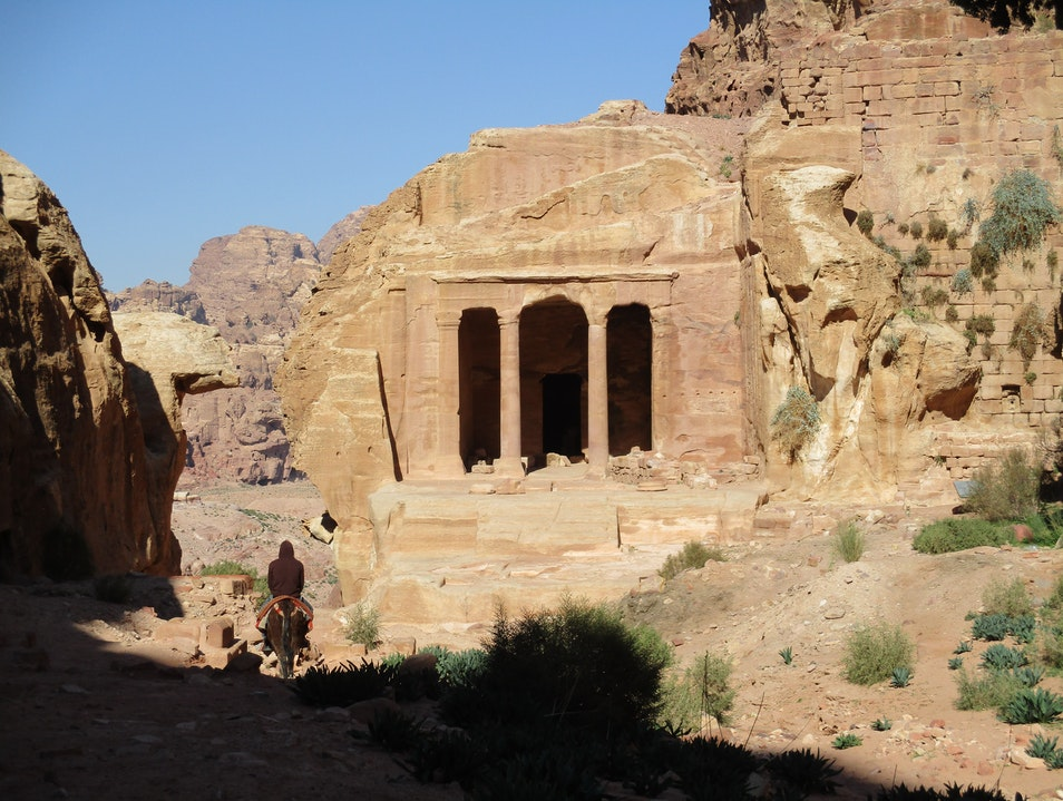 Head Out onto Petra's Backroad Trails  Ma'an Governorate  Jordan