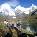 Peruvian Mountains Trek Climb Huaraz  Peru
