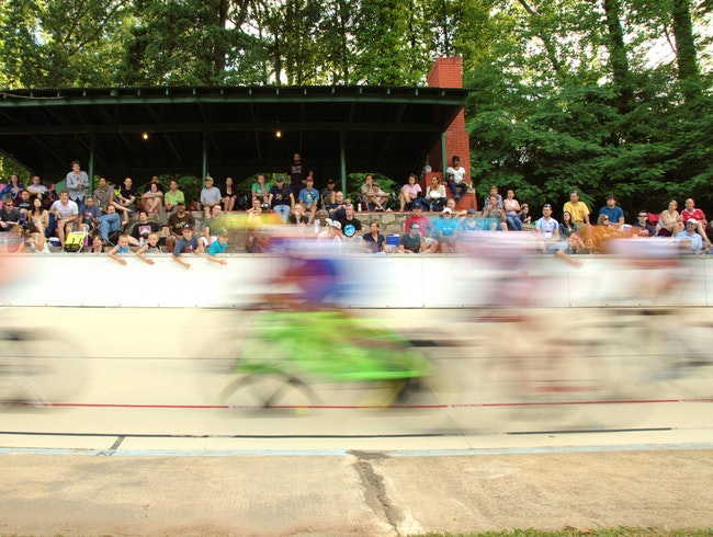 Bike Racing at Atlanta's Velodrome