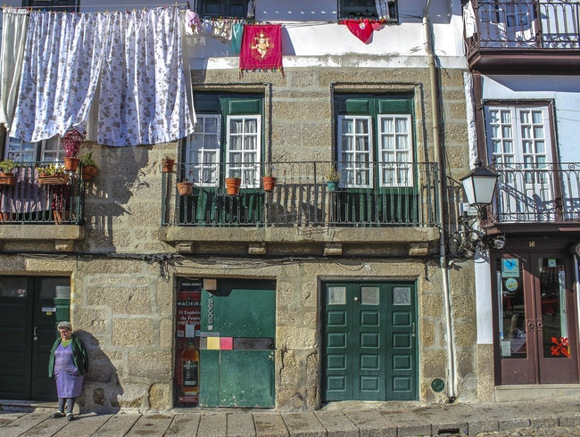 The back streets of Portugal's birth city