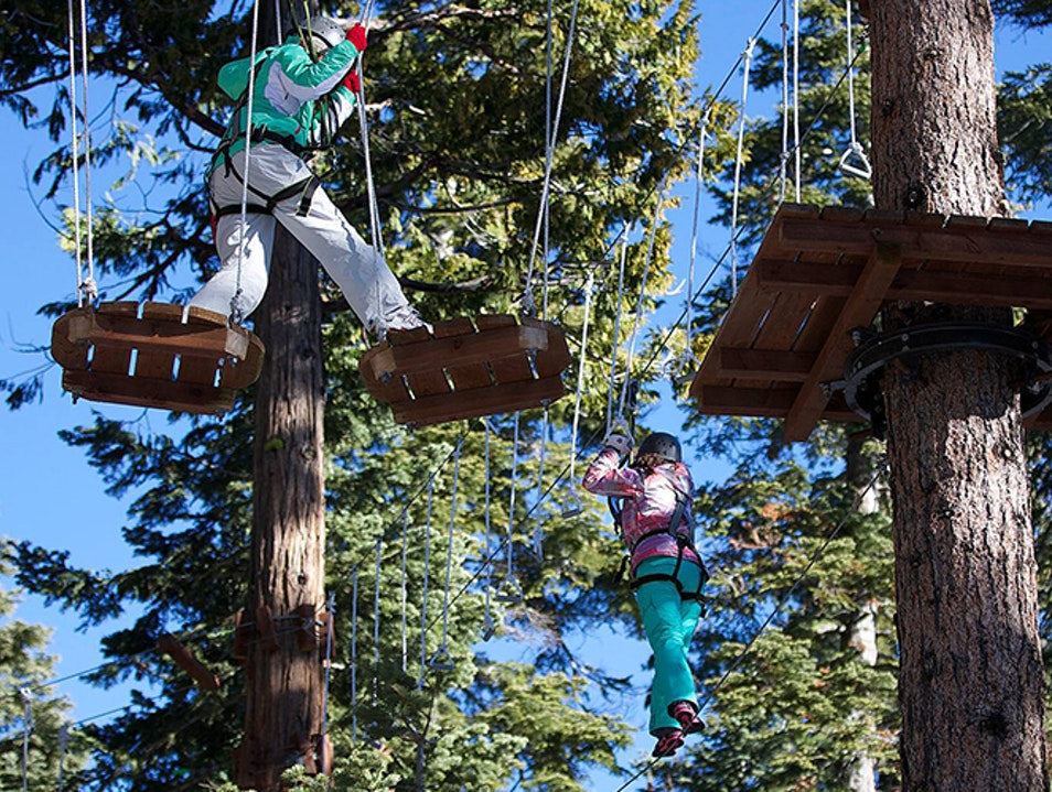 Tahoe City Treetop Park Lake Tahoe California United States