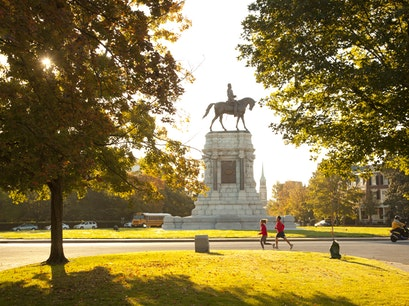 Monument Avenue Historic District Richmond Virginia United States