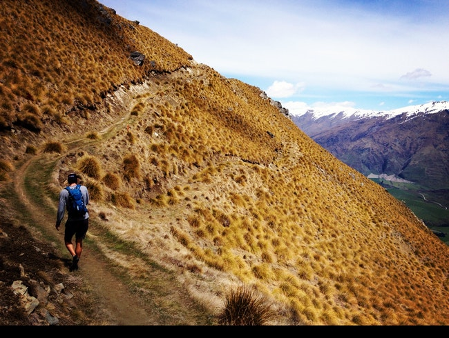 Hiking Roy's Peak in Wanaka