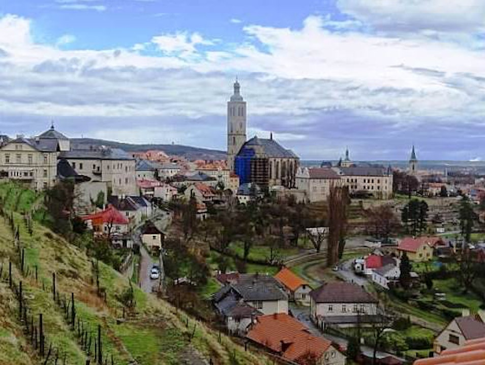 The beautiful city of Kutna Hora