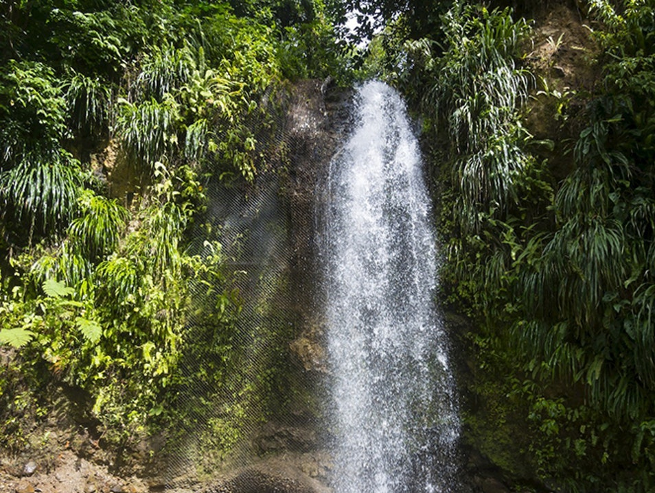 St. Lucia's Waterfalls Dennery  Saint Lucia