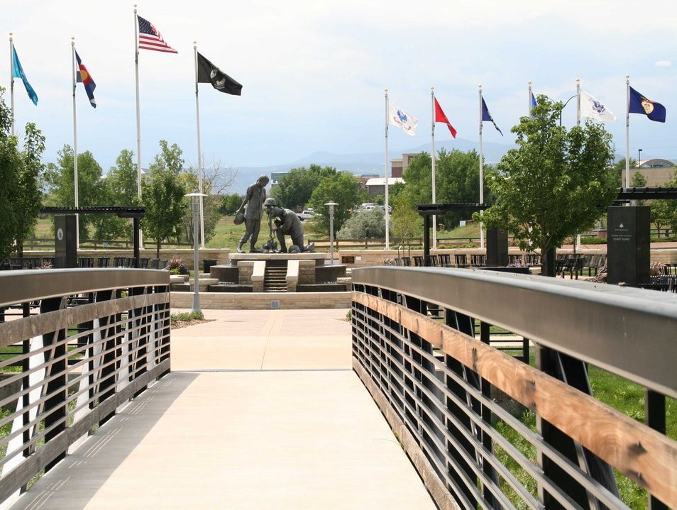 Armed Forces Tribute Garden Westminster Colorado United States