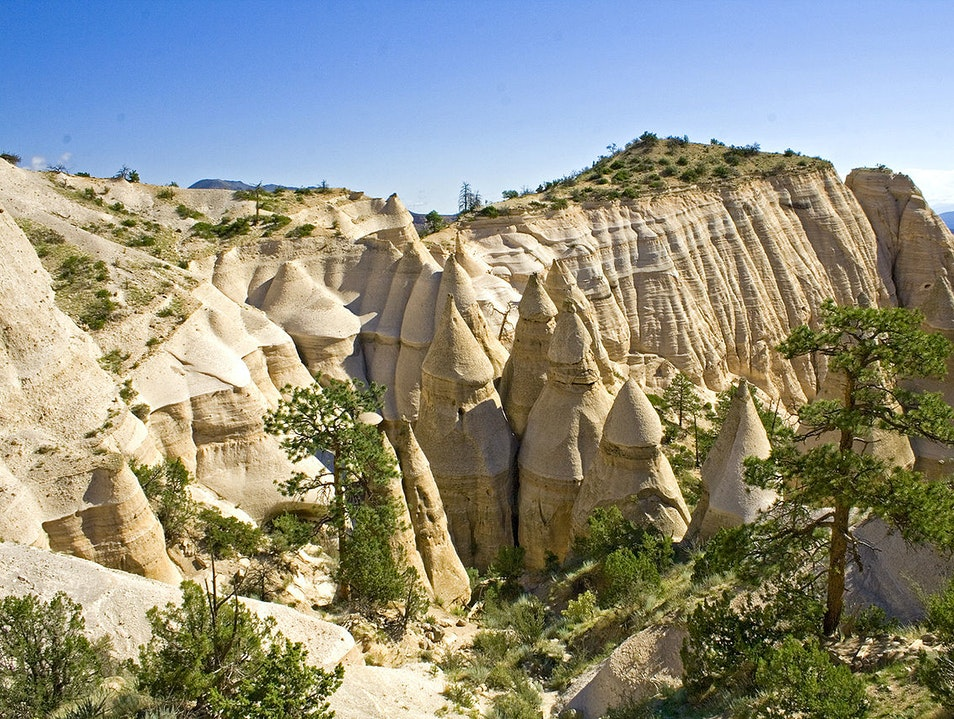 Hike in the Magical Landscape Jemez Springs New Mexico United States