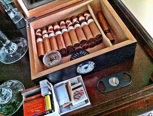 Live and Lounge in the Cigar Life, Ft. Lauderdale