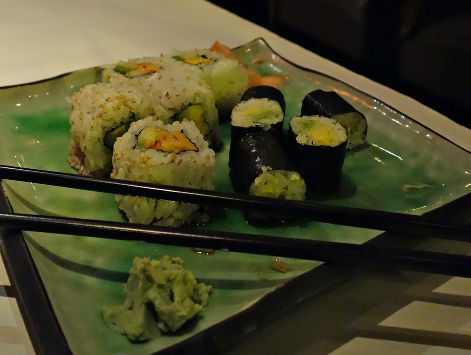 Enjoy sushi, New Orleans style New Orleans Louisiana United States