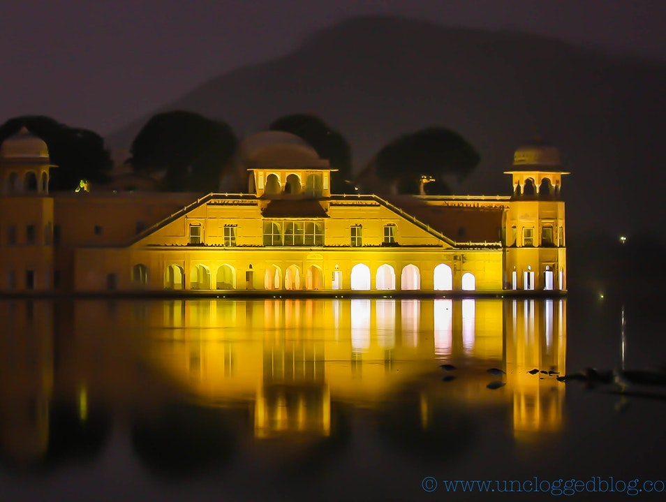 The Jal Mahal: Jaipur's Royal Pleasure Palace Jaipur  India