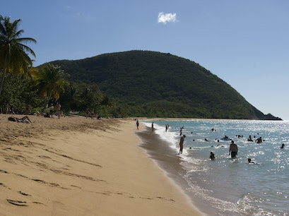 Decamp to Grande Anse Beach Deshaies  Guadeloupe