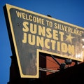 Sunset Junction Los Angeles California United States