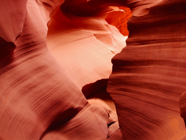 Following Water and Wind through Antelope Canyon