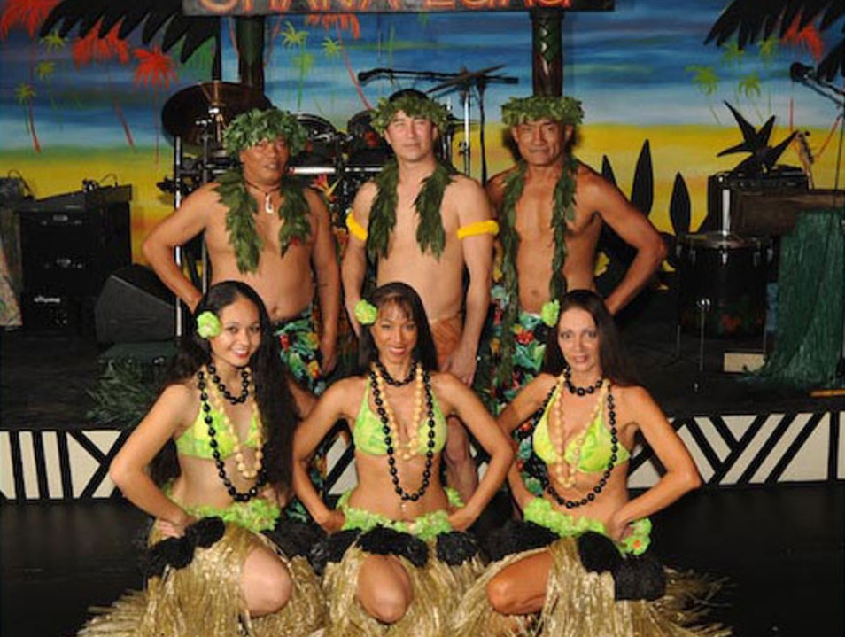 Luau Dinner Show Daytona Beach Florida United States