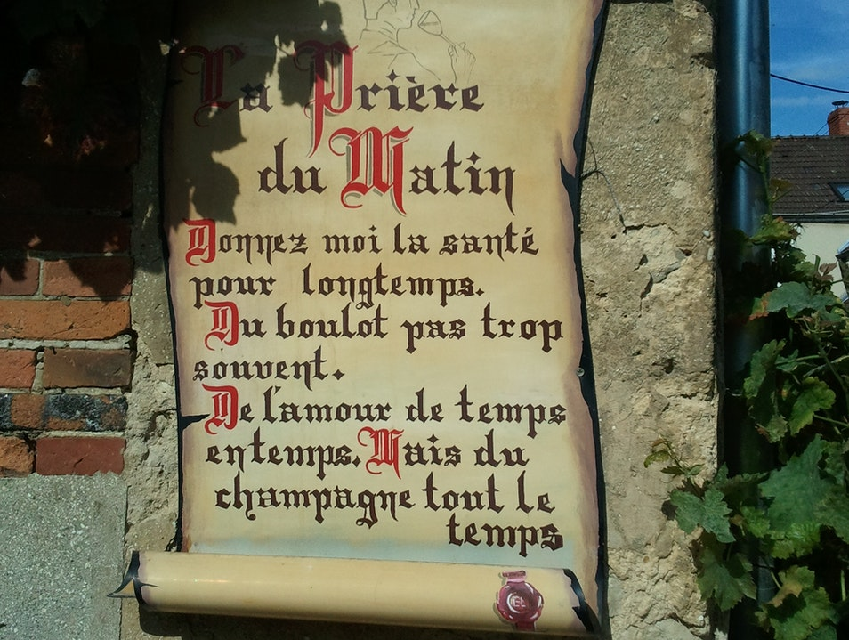 We Should All Be Saying this Prayer! Hautvillers  France