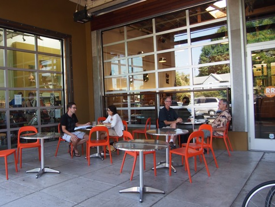 Coffee and Wi-Fi at Ristretto Roasters Portland Oregon United States