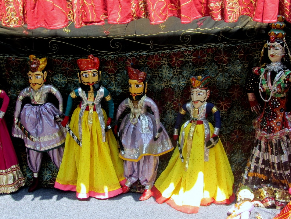 Watch a Puppet Show at Chokhi Dhani Pune  India