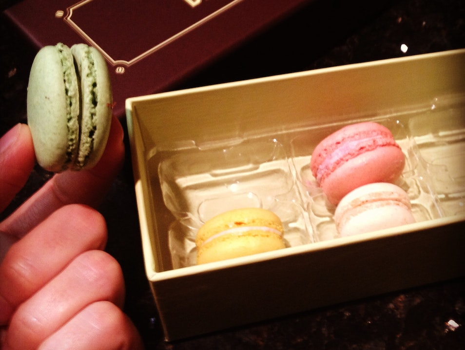 Macarons and More at Napa Valley's Famous Bakery
