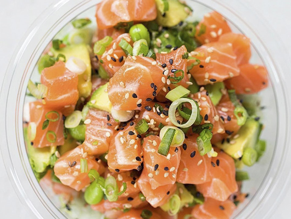 Poke Perfection at Sweetfin Santa Monica California United States