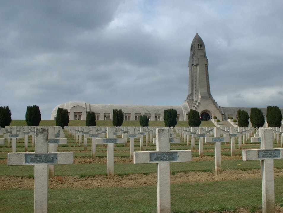 Casualties of War Verdun  France