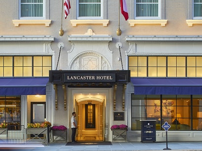 The Lancaster Hotel Houston Texas United States