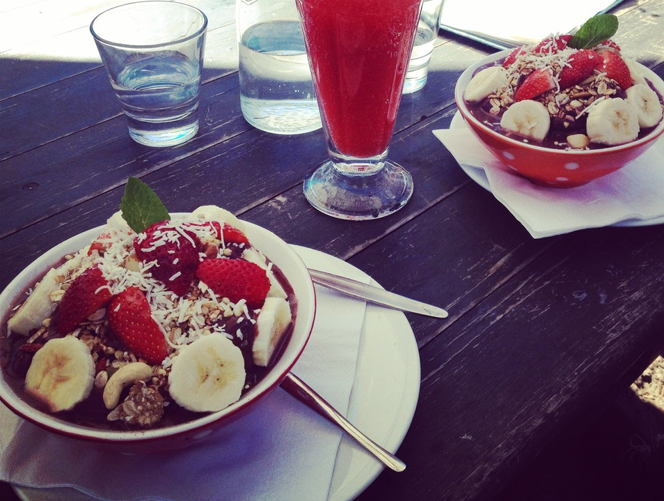 Superfood Brunch on the Gold Coast Mermaid Beach  Australia