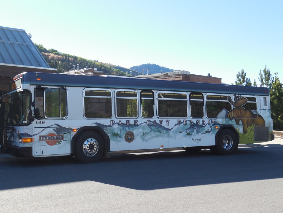 The Free Public Bus System Park City Utah United States