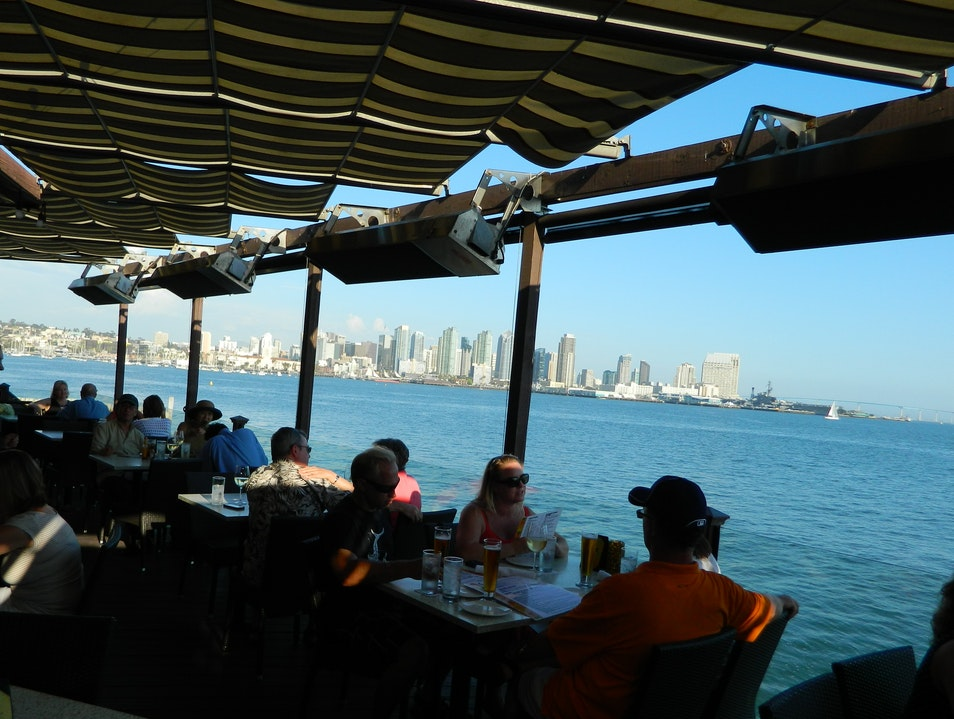 A Happy Hour with Great Views