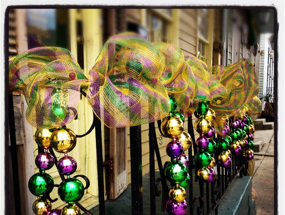 'Tis The Season, Mardi Gras Season New Orleans Louisiana United States
