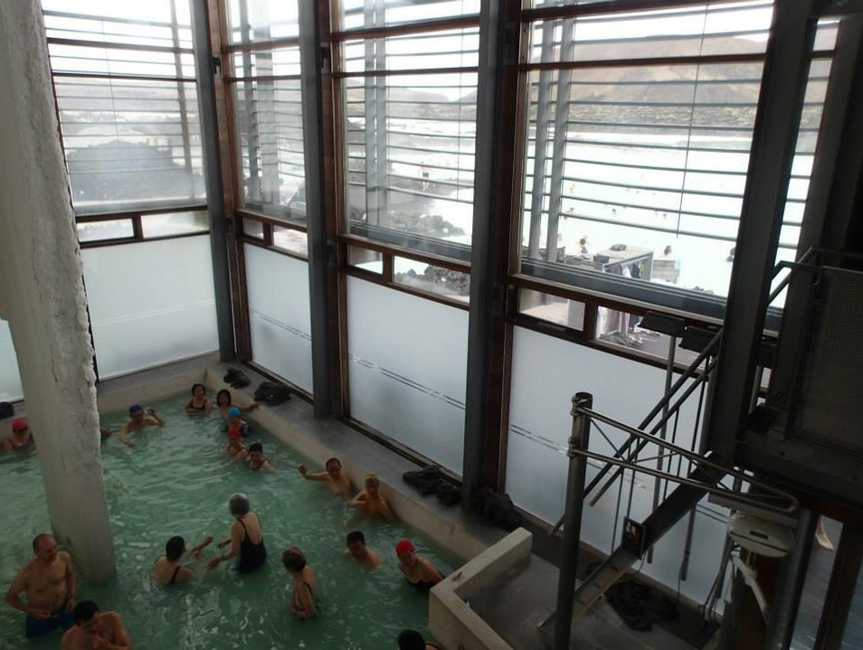 Relaxing 'Onsen'  Southern Peninsula  Iceland