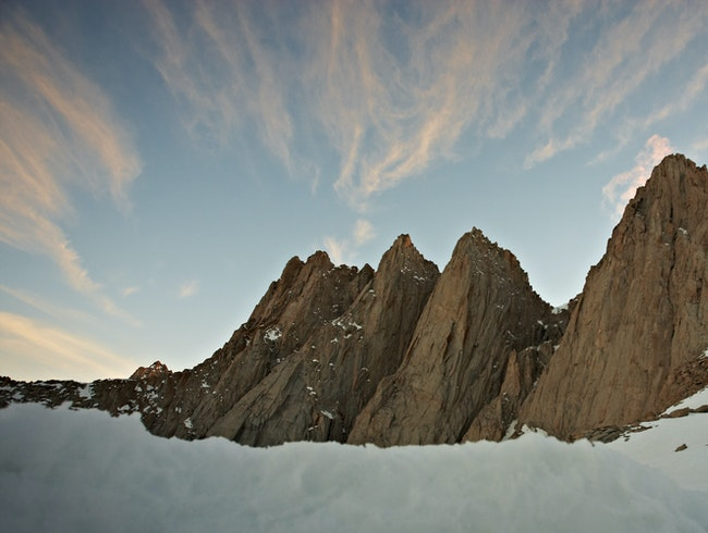 Sunrise over Mount Whitney