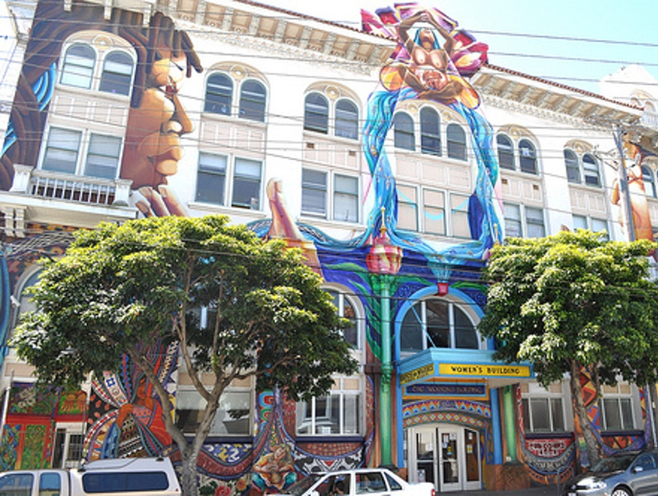 The Women's Buildling in Mission District San Francisco California United States