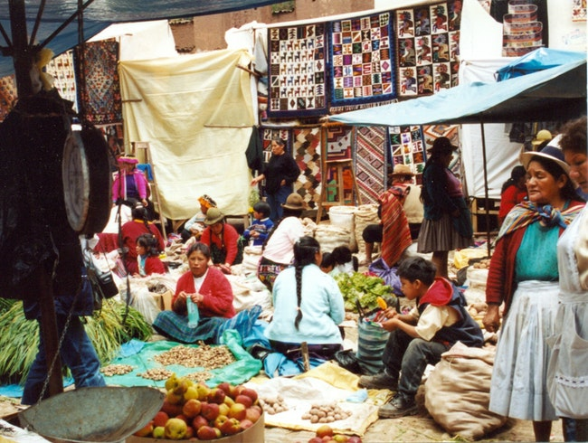 The Market at Pisac