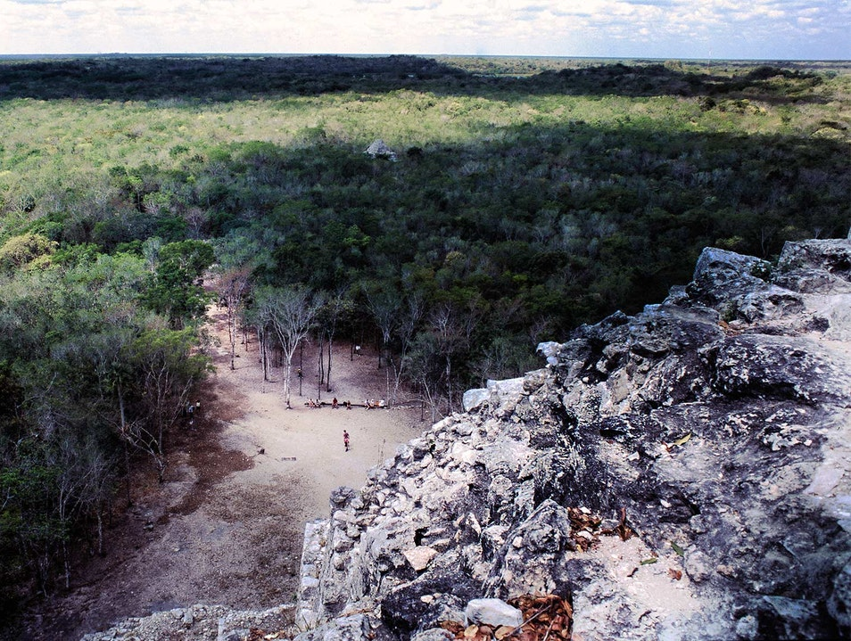 The Mayan view from the top of the world...