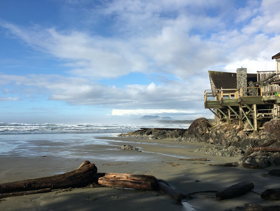A view with your food Ucluelet  Canada