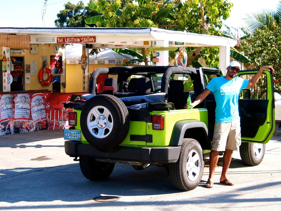 Eat at Ziggy's and Get Gas Christiansted  United States Virgin Islands
