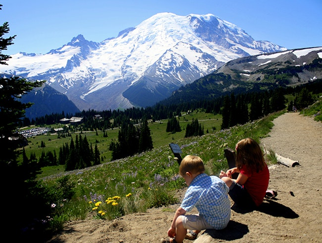 Hike the Burroughs Mountain Loop, Mt. Rainier National Park, WA