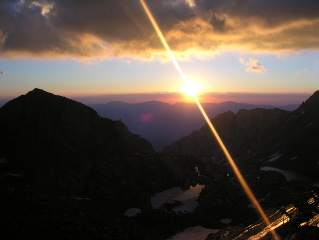 Sunrise on Whitney