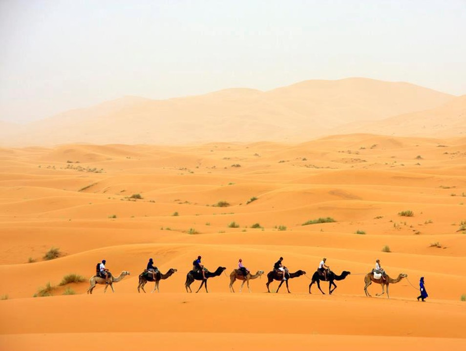 4 days from Fes to Marrakech, desert trip from Marrakech, camel trek from Fes, reviews camel trekking