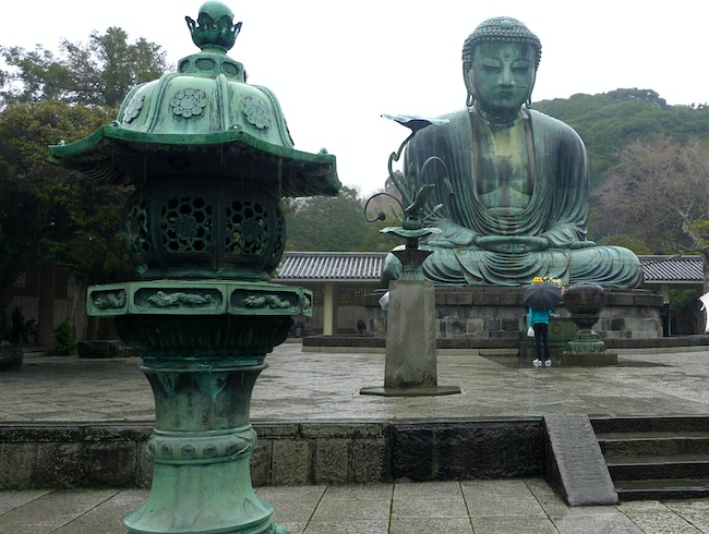 Kamakura in the Rain