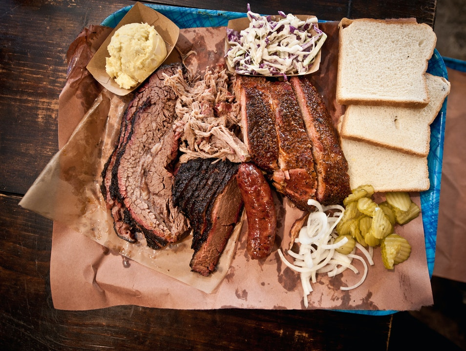 Best BBQ in Texas: Franklin Barbecue Austin Texas United States