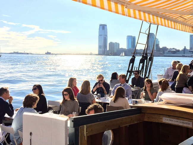 New York's New Floating Oyster Bar