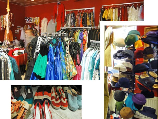 Second HAnd & Vintage to sell or rent